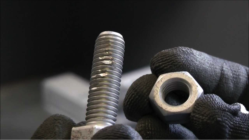 Thread Galling Issues with Stainless Steel Fasteners