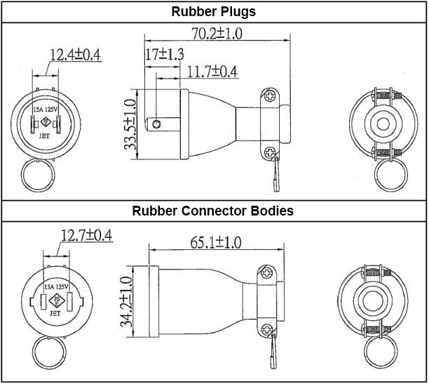 Rubber Plug / Body:Related Image