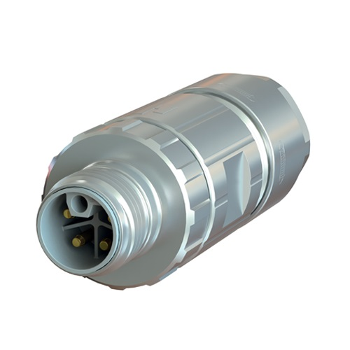 Straight Male Power Connector - M12 (SEALCON)
