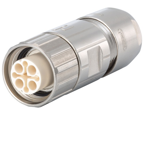 Signal Straight Connector - Female Thread, M16 (SEALCON)