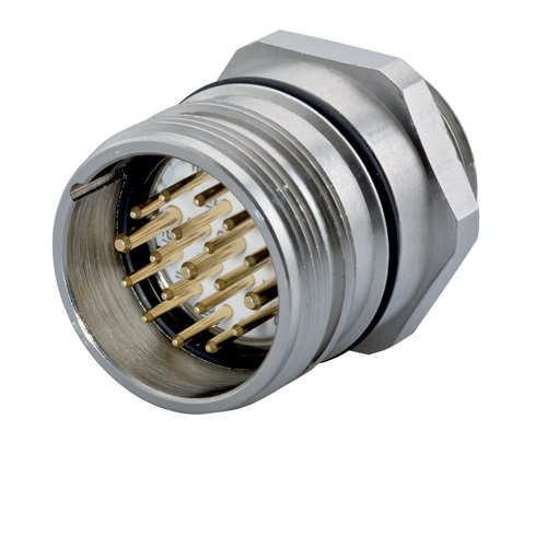 Power Straight Connector - Female Thread, M40 (SEALCON)