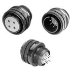 Circular Connectors - MIL-DTL-5015 Compatible, Waterproof, D/MS (D190) Series (DDK)