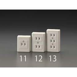 Thin Square Electrical Socket Outlet