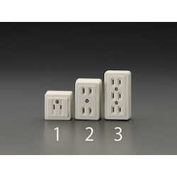 Square type socket-outlet EA940CH-2