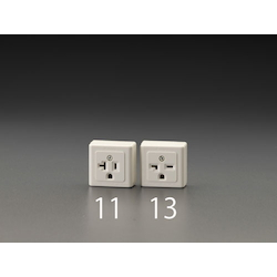 Square Type Socket-Outlet with Grounding