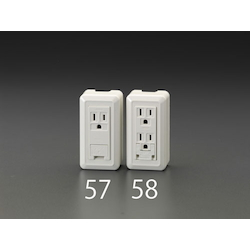 Square Electrical Socket Outlet