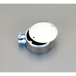 Round Exposed Box (1-Side Outlet)