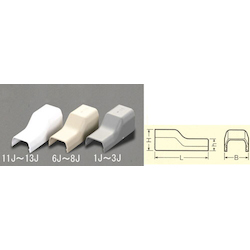 [Plastic] Cable Cover Joint [Corner] EA947HM-12J