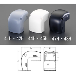 Cable Cover Duct Joint (Inner Bend)