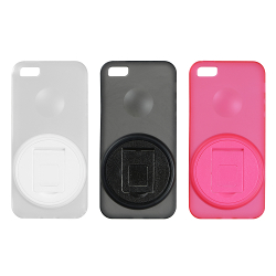 Shell Cover with Rotation Stand for iPhone5