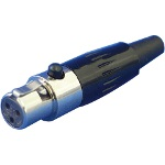 Small Cap Plug - Mini-XL Series (ITT Cannon)