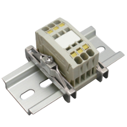 Clutch Lock Terminal Block Compact Series (Rail) TW