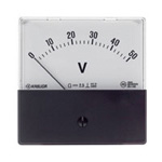 Gauge for Panel, DC Voltmeter (Moving Coil)