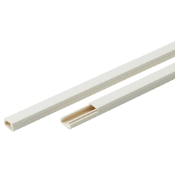 New F-mall trunking (with tape)
