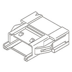 Wire-to-Wire Plug Housings with 2.50-mm Pitch (51198)