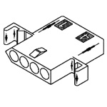"Standard .093"" Receptacle Housing(1490)"