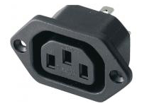 IEC Standard Outlet - Screw Mounted, C13 (MISUMI)