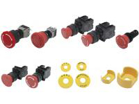 Emergency Stop Switch Mounting Hole φ16/φ22 (Value Product)