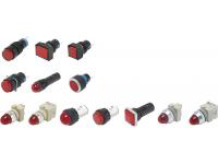 Indicator Lamps, Mounting Hole Diameter: φ12/φ16/φ22/φ30 (Value Model)