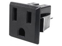 Domestic Blade Outlet, Outlet (Snap-In)/2-Prong Ground Model