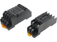 Relay sockets with high versatility for DIN rail and screw mounting (MISUMI)