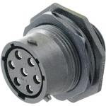 Environment-resistant Connector (UTS Series: Waterproof/Climate Resistant) Panel Mount Receptacle