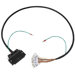 Mitsubishi PLC Q-Series Compatible cable (with Fujitsu/DDK/3M Connectors)
