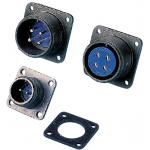 MS3102 Series, Waterproof, Panel-Mount Receptacle