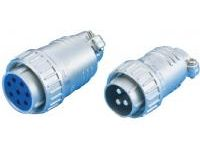 Straight Plug Connector - European Standard, NET Series (MISUMI)