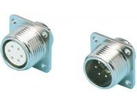 R03 Flange Panel Mount Receptacle (Screw Model)