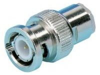 BNC Solder/Screw-Lock Plug