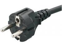 AC Cord, Fixed Length (VDE), Single-Sided Cutoff Model Plug