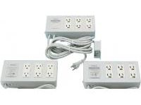Extension Cord Parts, 6-Ports (Box Model, 15 A, 125 V)