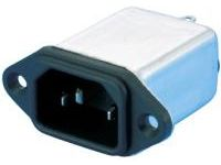 IEC Standard, Inlet with Noise Filter (Screw Model)/C14