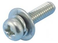 Small Pan Screw Set/Stainless Steel