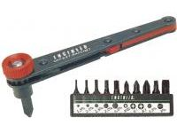 Screwdriver, Offset Ratchet Screwdriver Set