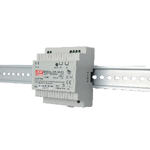 24 VDC Output DIN Rail Mount Low Profile Type (DR Series)
