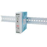 5 VDC and 12 VDC Output DIN Rail Mount (MDR Series)