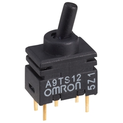 Extremely Small Toggle Switch A9TS (OMRON)