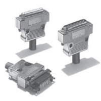 XM2/XM3 Series, D-Sub Shielded Connectors (OMRON)