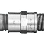 Combination Coupling (for connections for a standard plica and an electrical conduit or thin steel electrical conduit with screws)