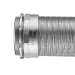 Connector for Knockout Use (includes a male screw for a thin steel electrical conduit)