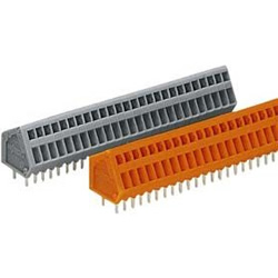 Terminal Block for Printed Circuit Boards, 233 Series, Max 0.5 mm2, Pitch: 2.5 and 2.54 mm