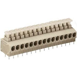 Terminal Block with Push Button for Printed Circuit Boards, 235 Series