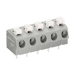 Terminal Block for Printed Circuit Boards with Push Button, 804 Series