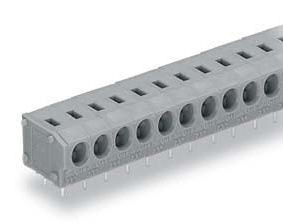 Terminal Block without Push Button for Printed Circuit Boards, 235 Series