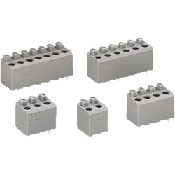 Terminal Block with Push Button for Printed Circuit Boards, 735 Series
