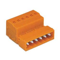 Spring Type Connector, 231 Series, 5.08 mm Pitch, Male