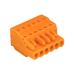 Spring Type Connector, 231 Series, 5.08 mm Pitch, Female