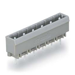 Male Header with A Solder Pin for The Spring Type Connector, 231 Series, 7.5 mm Pitch